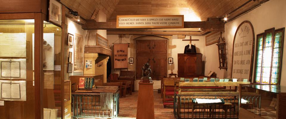 Seconde salle du musée Jeanne d'Albret