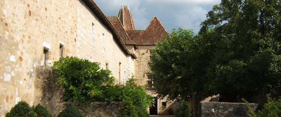 Cour de la maison de Jeanne d'Albret