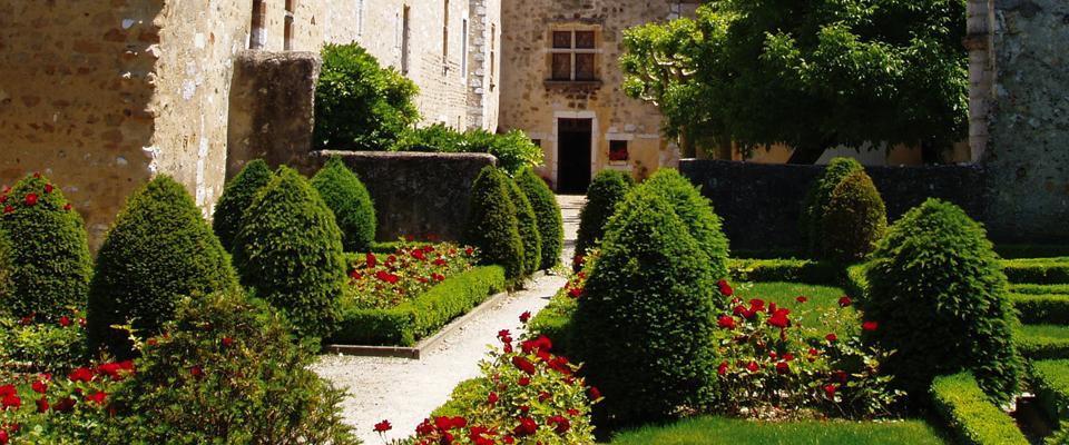 Jardins de la maison de Jeanne d'Albret
