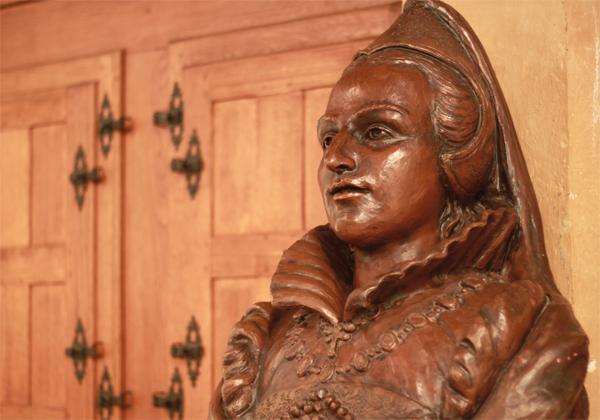 Carte postale | buste de Jeanne d'Albret