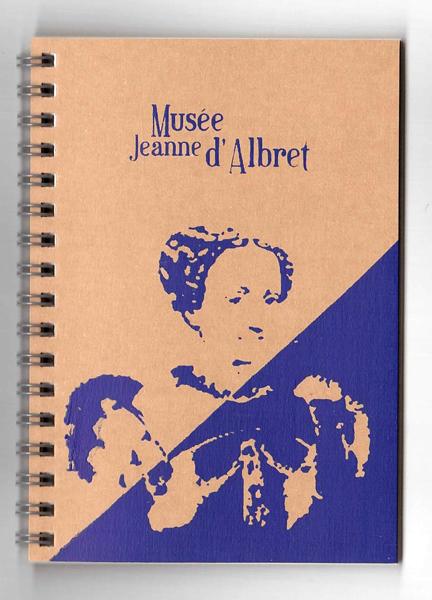 "Carnet spirale A6 ""Musée Jeanne d'Albret"" - Chick Hibou"