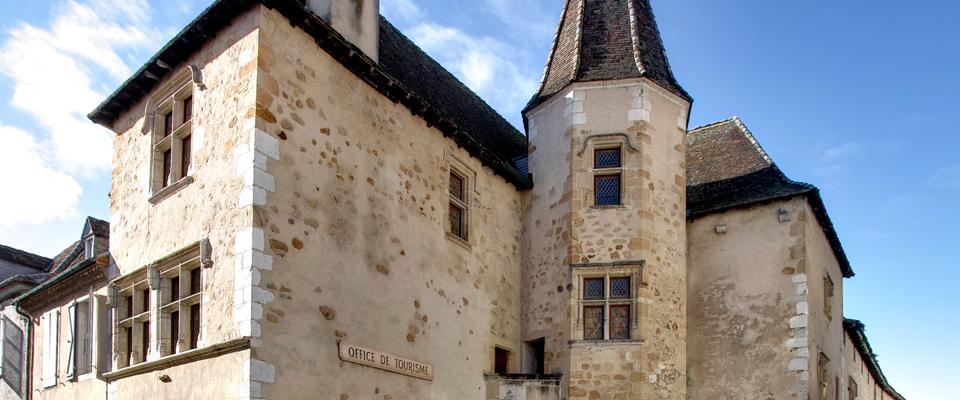 Façade de la maison Jeanne d'Albret