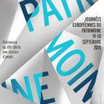 Affiche des Journées européennes du Patrimoine 2015