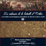 Affiche exposition temporaire fouilles archéologiques Orthez