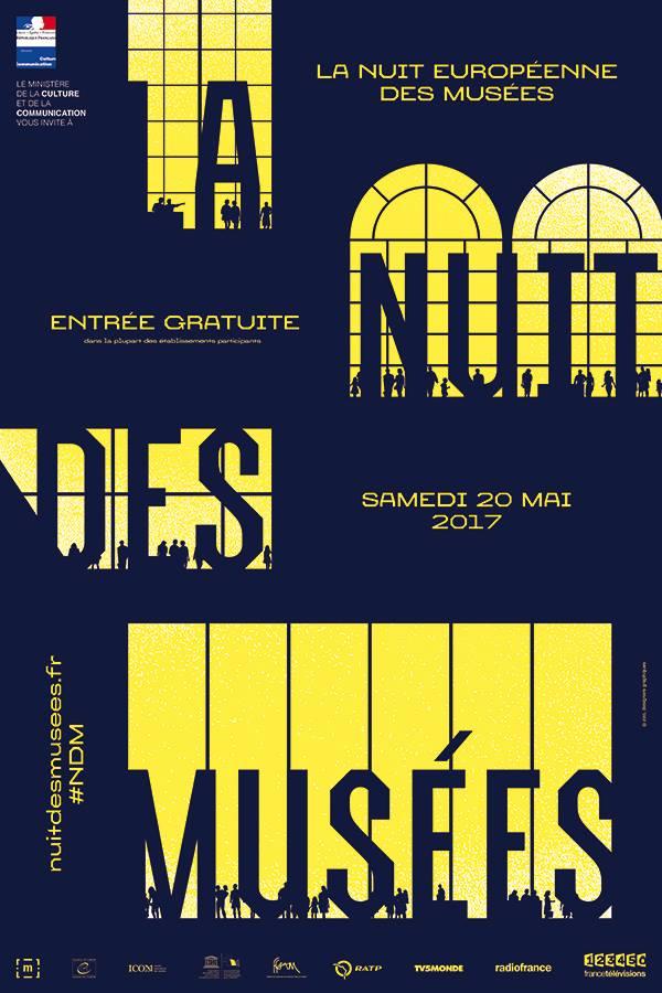 Affiche Nuit des Musées 2017