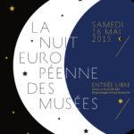 Affiche Nuit des Musées 2015