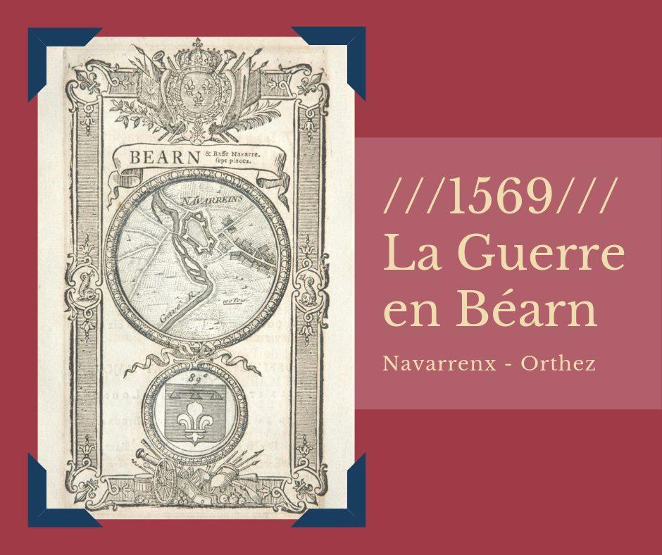 affiche 1569 la guerre en Béarn